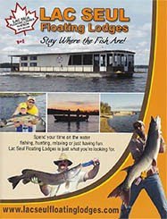 Lac Seul Floating Lodges Brochure